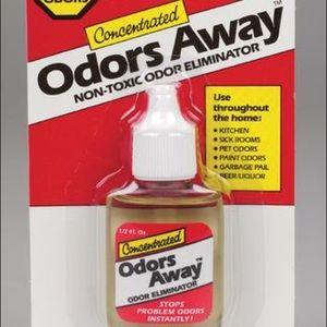 Odors away drops